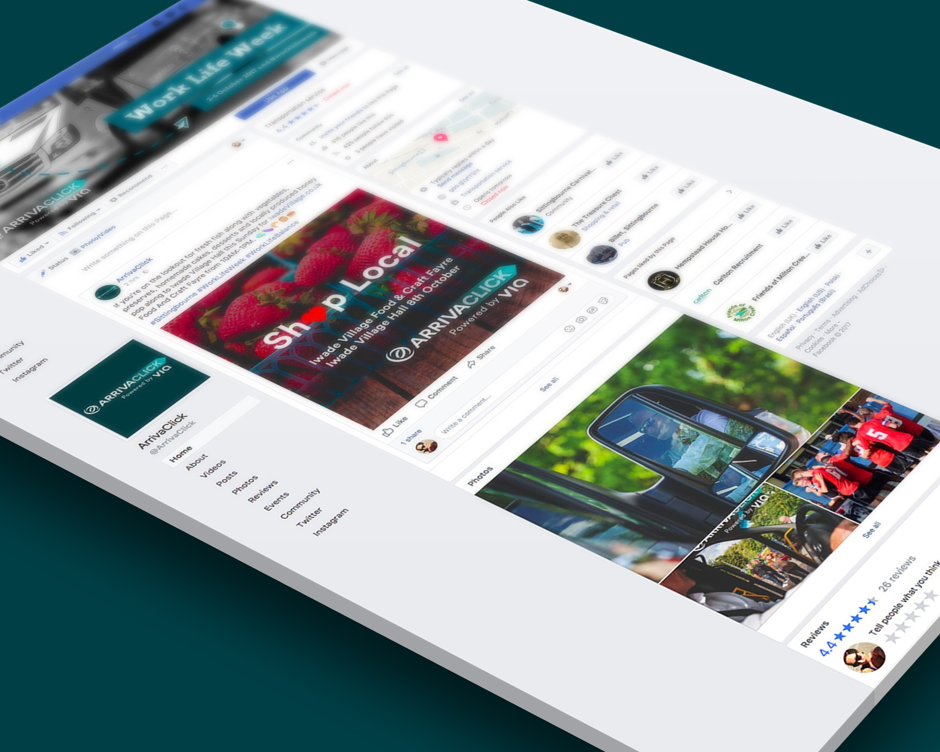 ArrivaClick Design